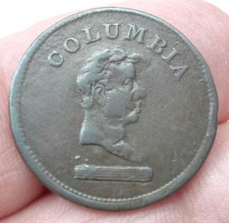 Jeton 1/4 de Penny de la Colombie-Britannique (1820-1830) 1a15