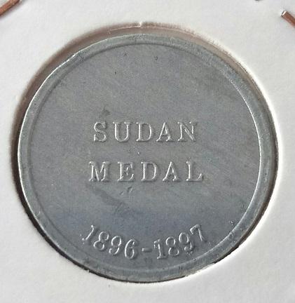 """Médaille de la Cie Cleveland Petrol """"Sudan Medal"""" 1896-1897 ... 1a32"""