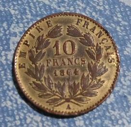 Napoléon III, 10 francs, faux. 1a44