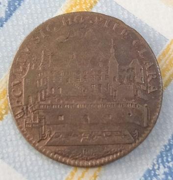 1685, Blason et Palais. 1a49