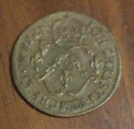 Petit jeton de Louis XVI, Ioh. Christi. 1a78