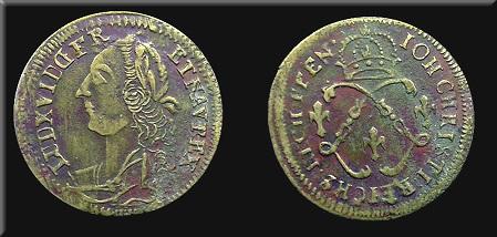 Petit jeton de Louis XVI, Ioh. Christi. 1a86