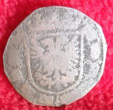 Jeton (retaillé) de l'empereur Charles Quint, pour les Pays-Bas ... 23a10
