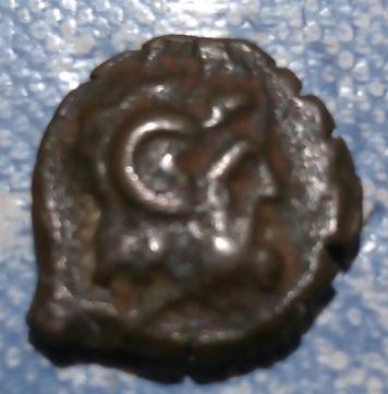 Bronze ptolémaïque pour Cléopâtre III & Ptolémée IX, atelier de Cyrène ... 267