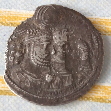 Dracma de Varhran II. 275
