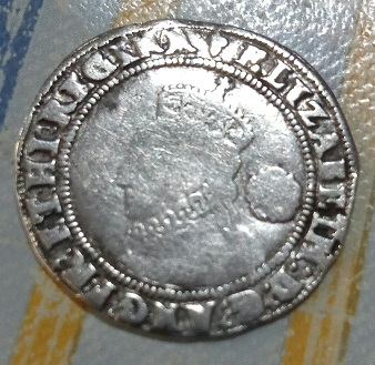 6 peniques de Isabel I de Inglaterra 294