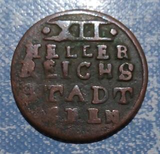 Aquisgrán (Aachen),12 Heller de 1794 2a28