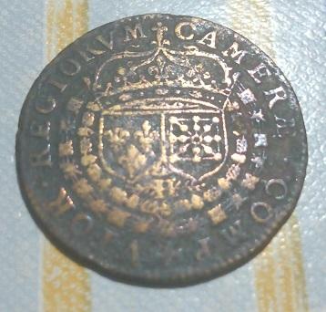 "Jeton pour Henri IV, Chambre des Comptes ""CAMERAE COMPVTOR REGIORUM"" 1603 ... 2a62"