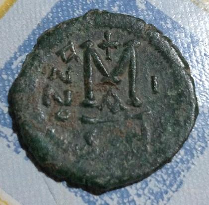 Follis pour Mauricie Tiberie, atelier Constantinople ... 2a68
