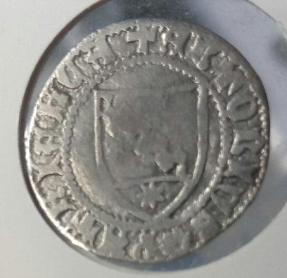 Italia,Aquileia, Denaro de Antonio II Panciera, 1402-1411.  316