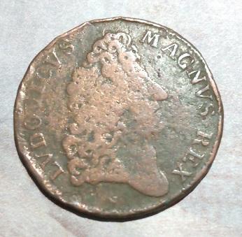 """Jeton Louis XIV """"AUGET VICTORIA VIRES"""" ... 340"""