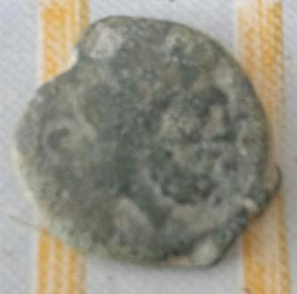 Semis romano , Proa , exergo ROMA 383