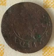 Doble Tornés de Fréderic Maurice de la Tour  d´Auvergne duque de Bouillon. 3a13