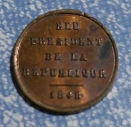Luis Napoleon Bonaparte , Elegido Presidente de la Republica , 1848 3a46