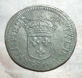 "Jeton de Nuremberg, Louis XIV ""HANS.VL.HOR.AVFS.RECH.PFENN"" ... 4a40"