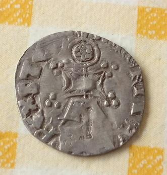 Pièce d'argent  re-taillé, Helm 5101