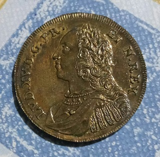 "Jeton Louis XV ""Paix de Fontarabie"" PACIS FIRMANDA EREPTUM PIGNUS ... 527"