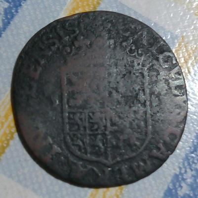 ESCUDO Y SOLDADO ROMANO CON LANZA . 555