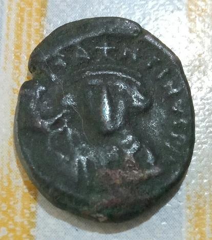 Autre Demi-Follis pour Tibère II Constantin, atelier Carthage ... 558