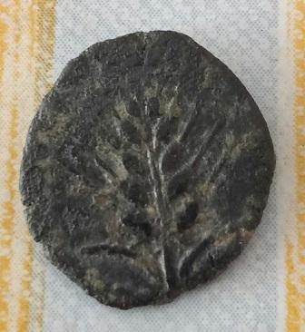 Quadrant d'Ituci ( Hispania ). Poisson, lune et spike. 584