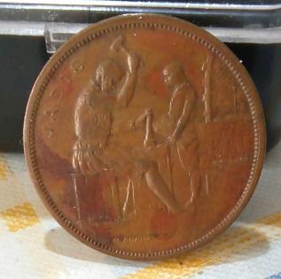1910 La casa de la moneda en Bruselas 5a43