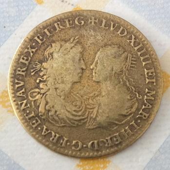 Lvd XIIII et Mar. Ther. 1666, Soleil, zodiaque. 672