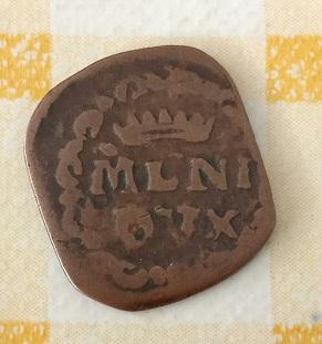 1 Quattrino de Carlos III de España, Milán 679