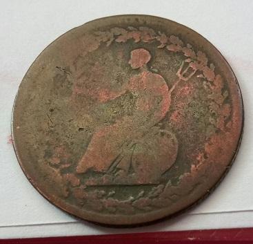 Jeton ½ Penny 1814 des colonies britanniques ... 6a20