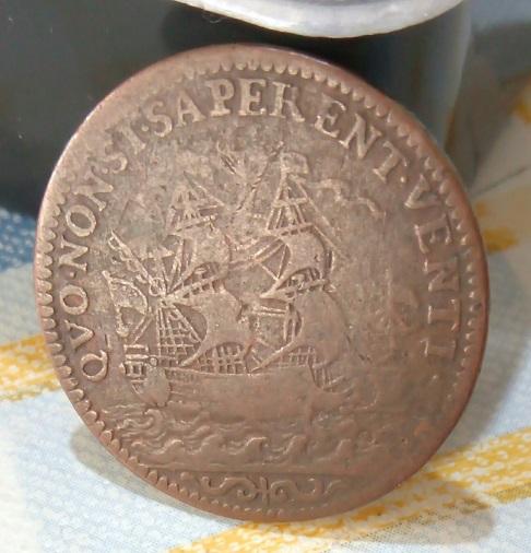 Jeton de la Marine et des Galères Royales de Louis XIV ... 6a35