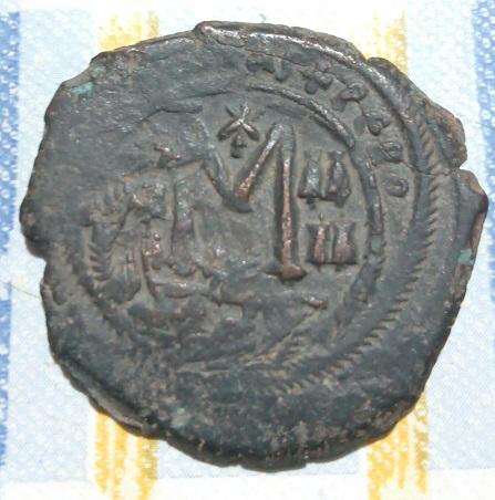 Follis d' Héraclius atelier de Constantinople ... 6a49