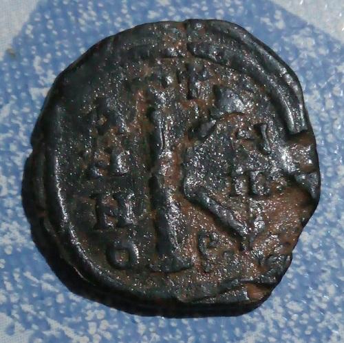 1/2 FOLIS  , TIBERIO II CONSTANTIN ? . 6a53