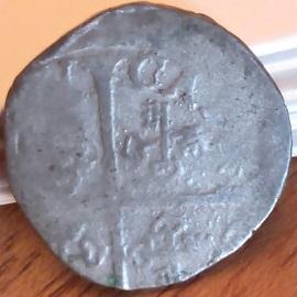 1/2 gros de Pio V y Carlos de Borbón. Comtat Venaissin 710