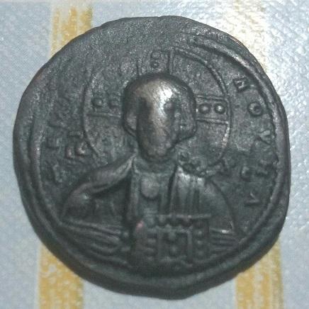 Follis anónimo atribuido a Basilio II y Constantino VIII. 747