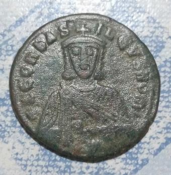 Follis de Leon VI.  754