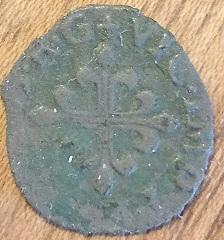 Liard del Delfino Ticione (Desana, Italia),año 1583 810