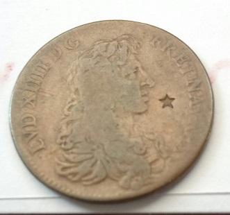 Louis XIIII, jetón avec des contra.marques 8a18