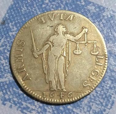 """Jeton """"Réforme de la Justice"""" 1646 Louis XIV ... 8a32"""
