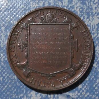 Médaille souvenir de l'Escalade du 12 Décembre 1602 à Genève ... 8a59
