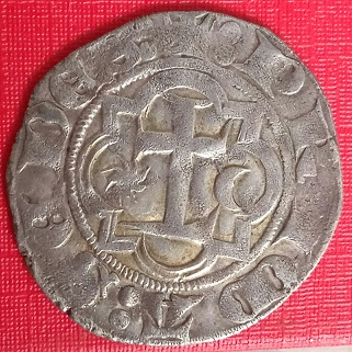 Blanca de vellón del obispado de Lyon. Mediev11