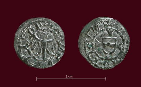 1/4 de Meraner de Federico IV de Austria, 1406/ 39. Tirol Tirol_11
