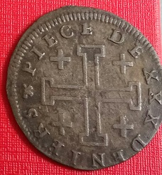 30 Déniers (2 1/2 sols) de Leopoldo I, duque de Lorena y Bar, de 1728 Xxx_de11