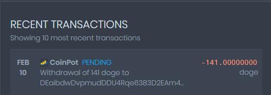 [Provado]CoinPot - Uma wallet diferente com as melhores faucets (Recebido: 2600 Doge/23000 Satoshis)/0,4 Litecoin) Screen37