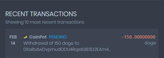 [Provado]CoinPot - Uma wallet diferente com as melhores faucets (Recebido: 2600 Doge/23000 Satoshis)/0,4 Litecoin) Screen39