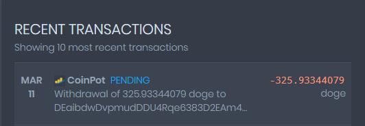 [Provado]CoinPot - Uma wallet diferente com as melhores faucets (Recebido: 2600 Doge/23000 Satoshis)/0,4 Litecoin) Screen46