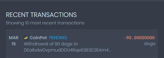 [Provado]CoinPot - Uma wallet diferente com as melhores faucets (Recebido: 2600 Doge/23000 Satoshis)/0,4 Litecoin) Screen49