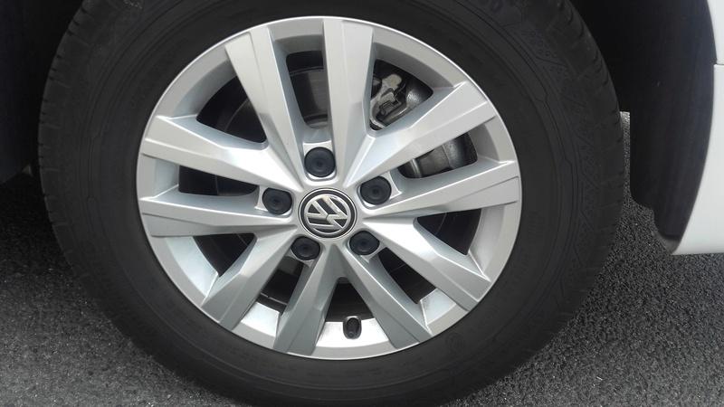 VEND 4 JANTES 16 POUCES avec pneus pour VW T5 OU T6 Jantes10