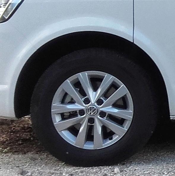VEND 4 JANTES 16 POUCES avec pneus pour VW T5 OU T6 Jantes11