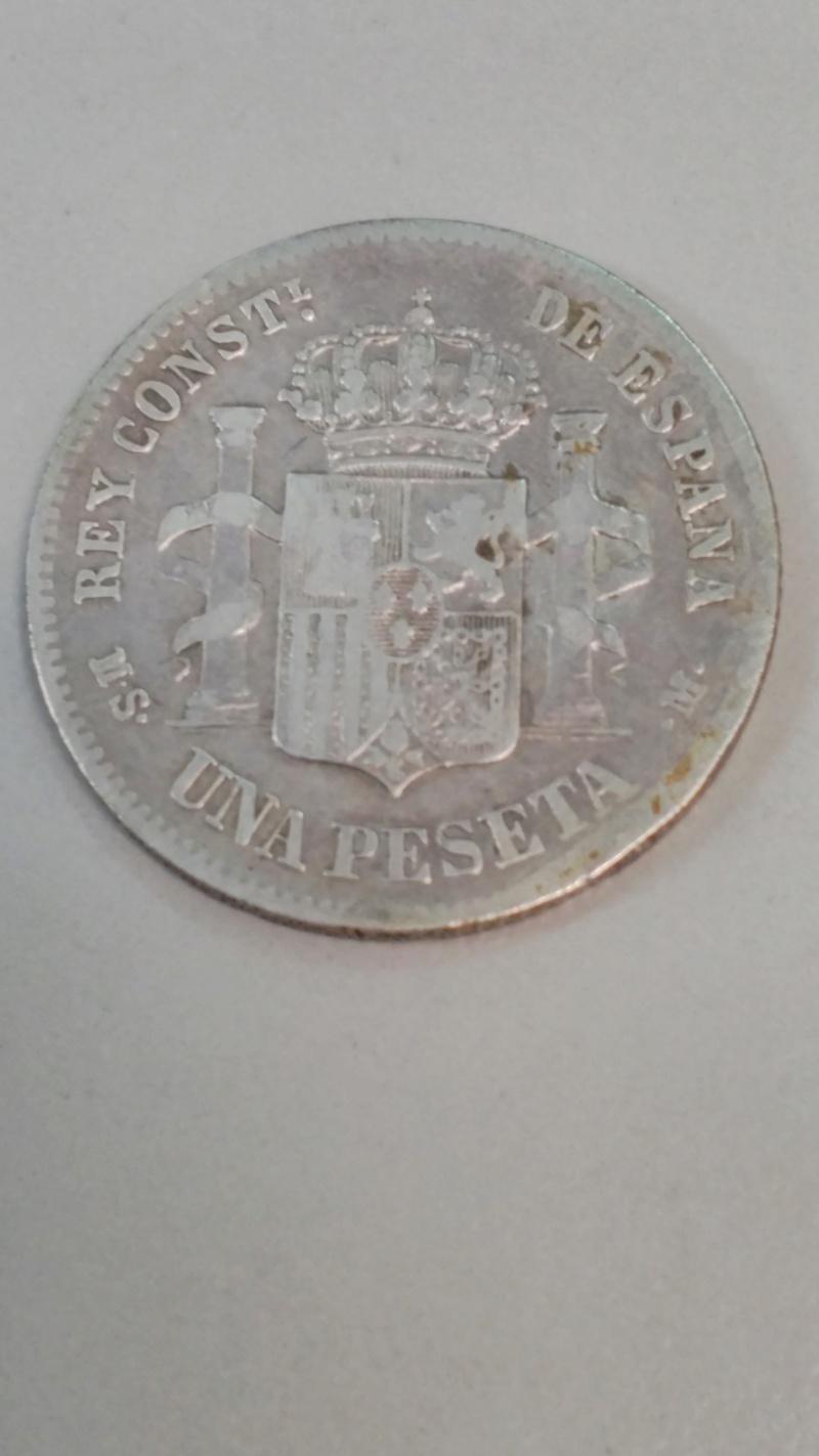 1 Peseta 1884. Alfonso XII Peseta10