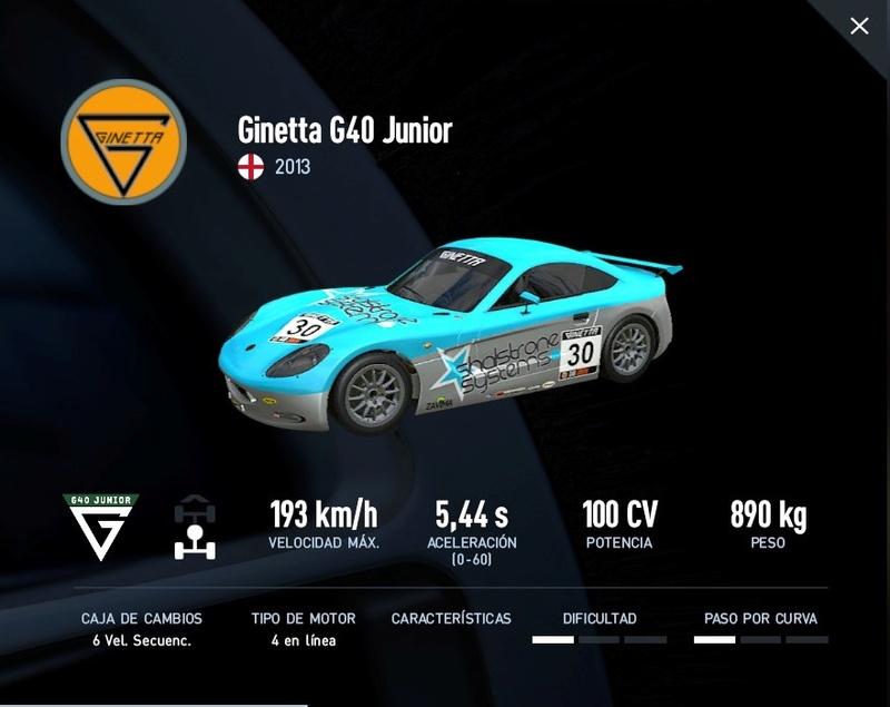 [PC2] - Inscripcion Campeonato Ginetta Junior Inscri10