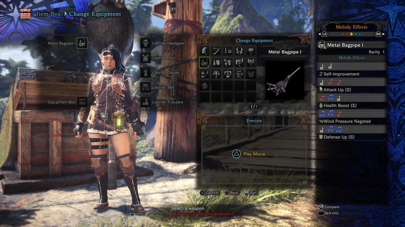 Review: Monster Hunter World (PS4 Retail) Differ10